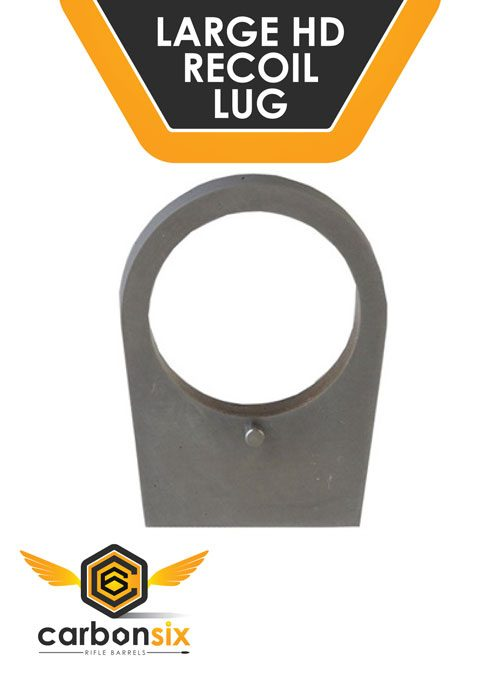 Large Heavy Duty Recoil Lug by carbonsix for Savage Rifles