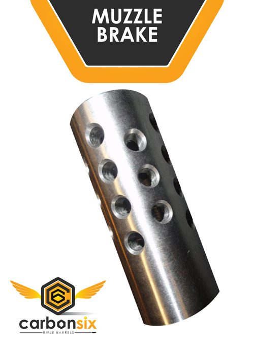 carbon six llc muzzle brake