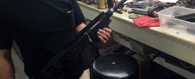 prefit carbon fiber barrel by CarbonSixLLC.com for a Ruger Precision rifle.