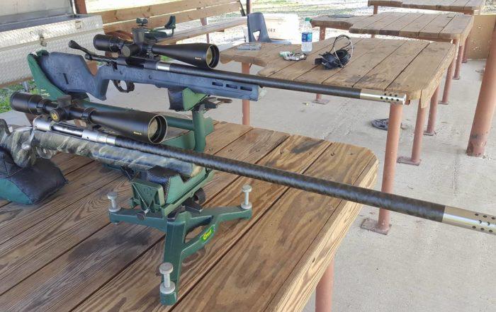 CarbonSix test firing lapua 6.5x47 custom carbon fiber rifle barrel