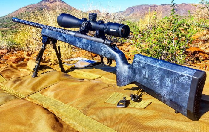 CarbonSix Rifle Long Range Shooter
