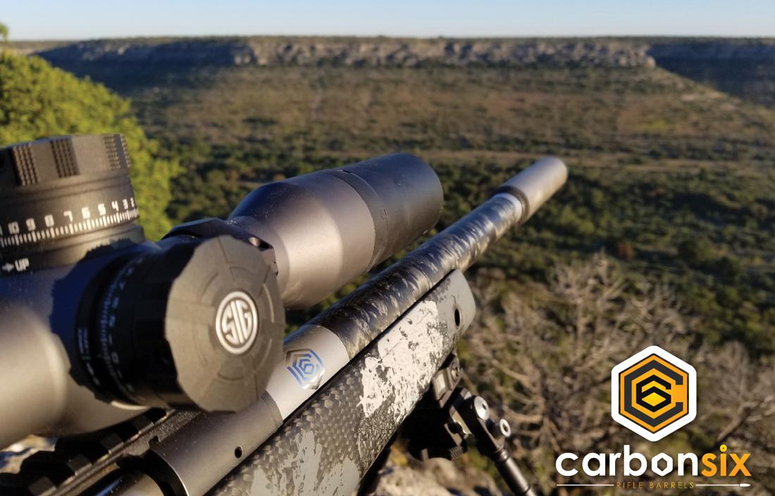 Troy's CarbonSix Rifle Barrel Carbon Fiber