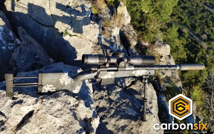 Troy's Carbon Six rifle barrel Carbon Fiber
