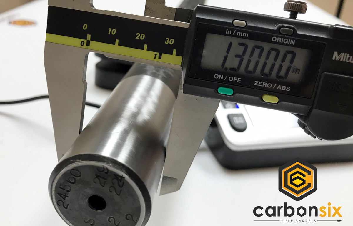 Carbon Six Custom Fat Contour Barrel Blank